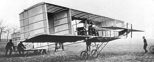 Brabazon_in_plane_in_1909